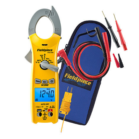 SC260 - Compact Clamp Meter with True RMS