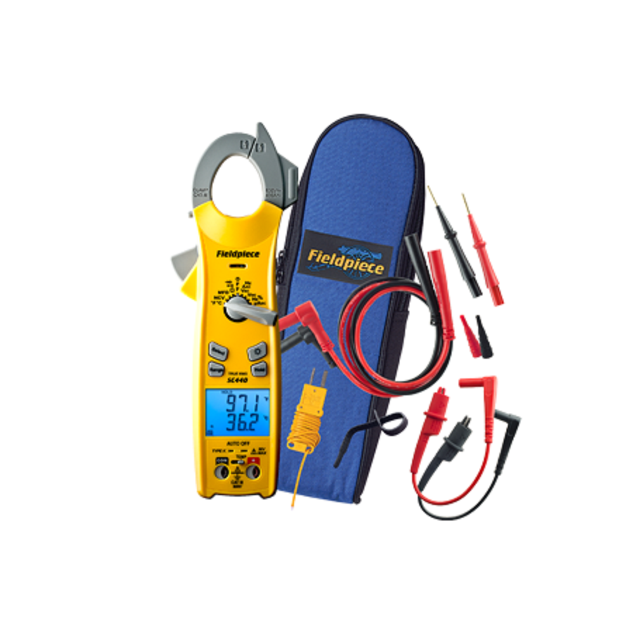 SC440 : TRMS Dual Display Clamp Meter