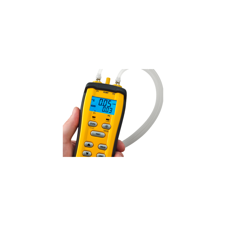 SDMN6: Manometer with Air Pump for Pressure Switch Calibration